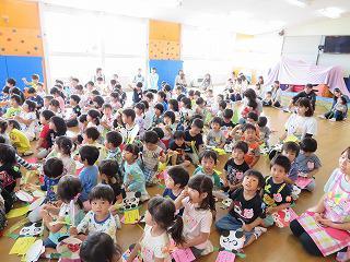 6月20日 七夕飾りつけ 子育てキャンパス「すまいる」