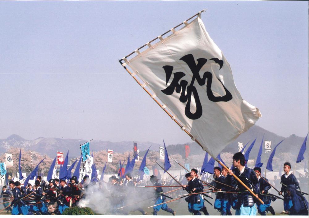 5月3日開催「川中島合戦有料桟敷席」を4月1日より予約販売いたします。:画像