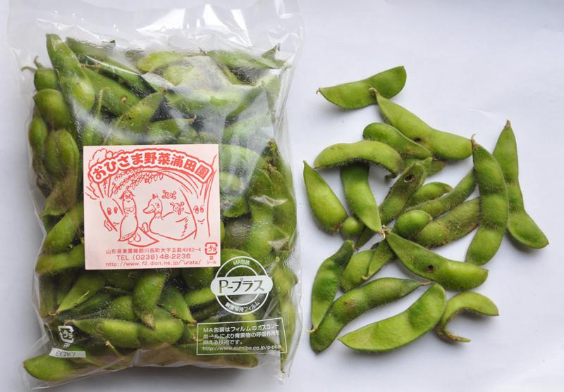 秘伝枝豆のB品販売します