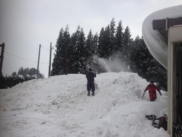 雪わっさ準備その1