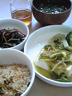 豆腐のカレー風味あんかけ:画像