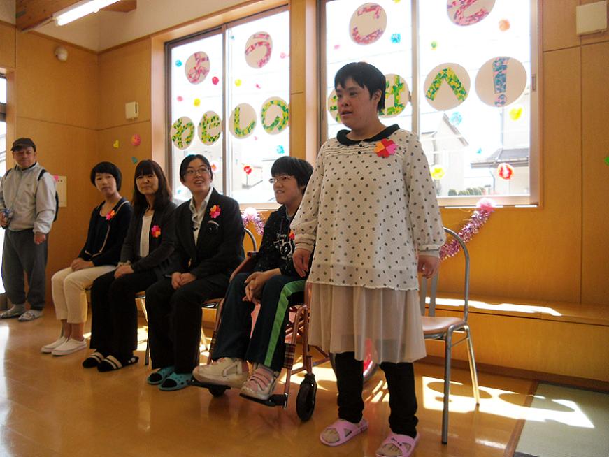27年度入所式開催!:画像