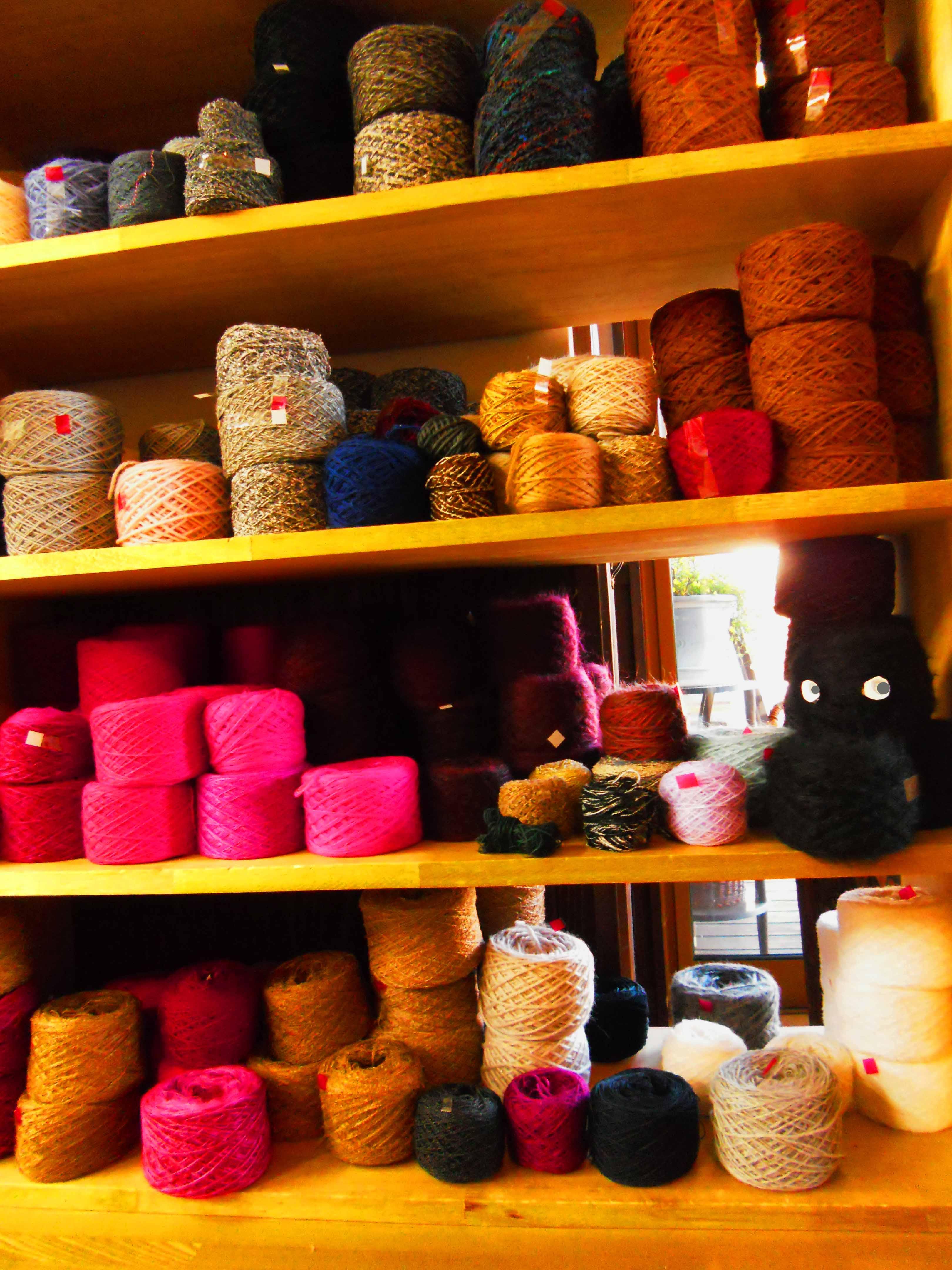編み物の季節です!なんとお得な毛糸の詰め放題♪:画像