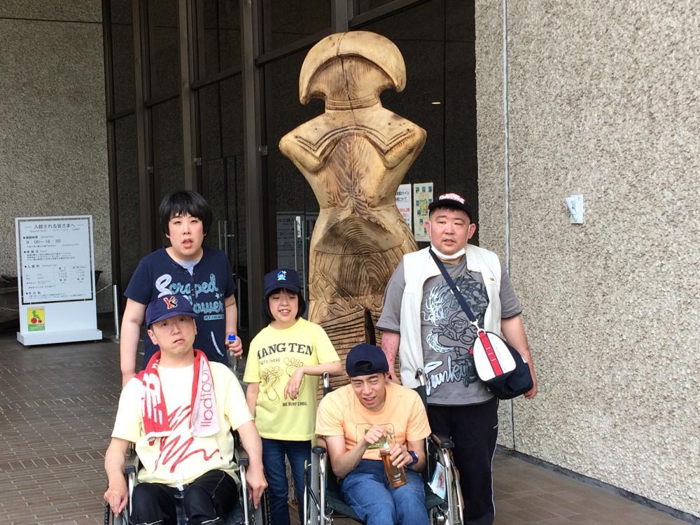 生活介護で博物館に行ってきました!!