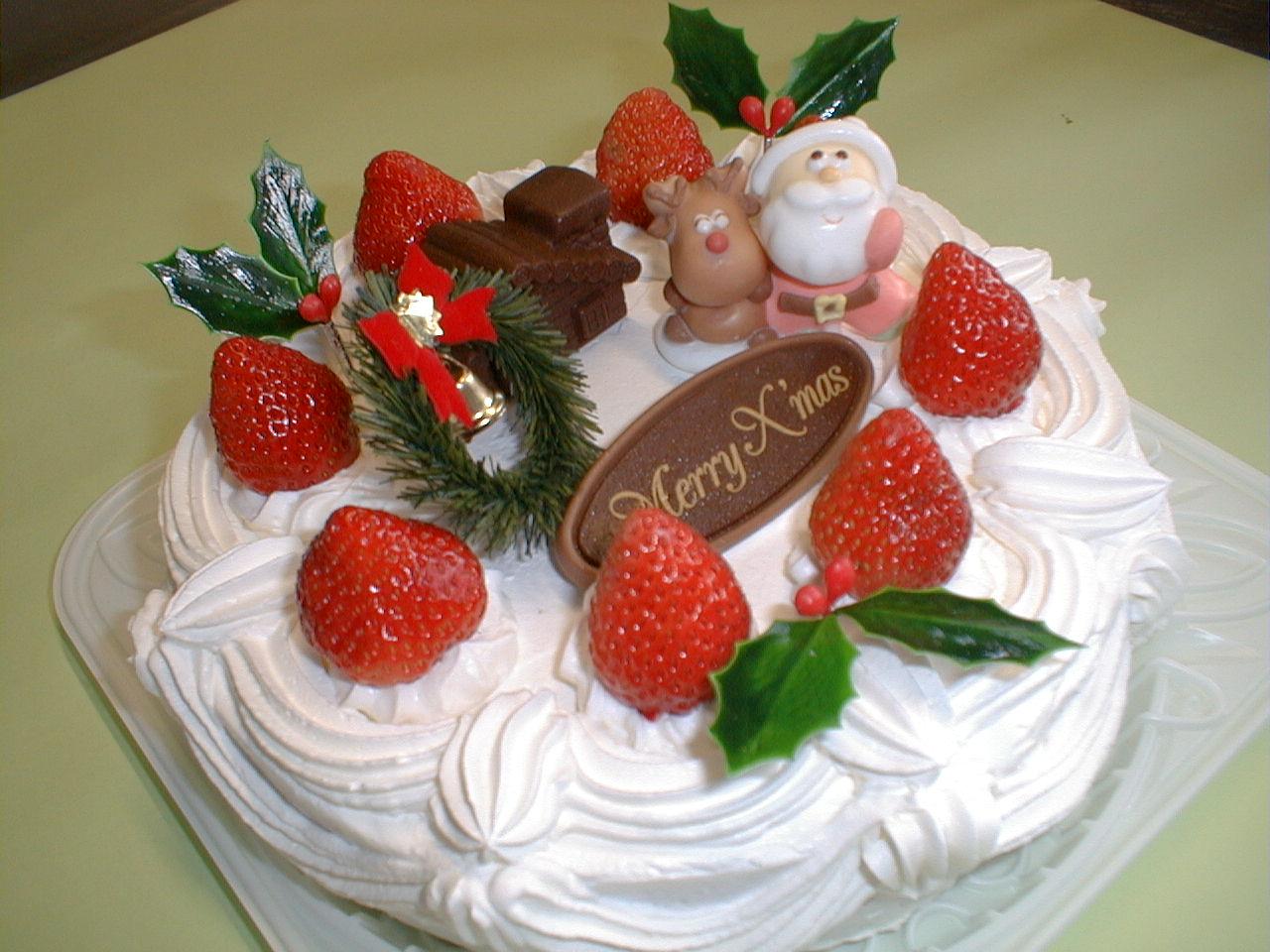 ♪クリスマス特集♪クリスマスケーキ!いつでもどうぞ!:画像