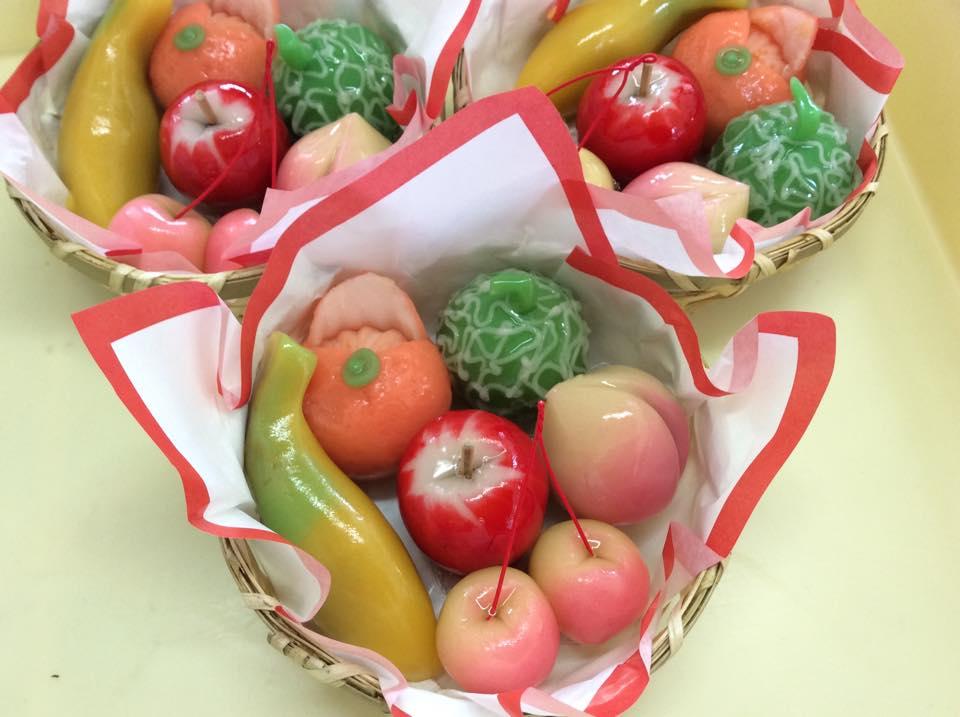 果物を模したひな菓子:画像