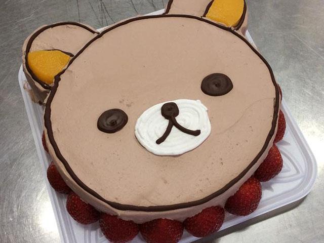 リラクマのバースデーケーキ:画像