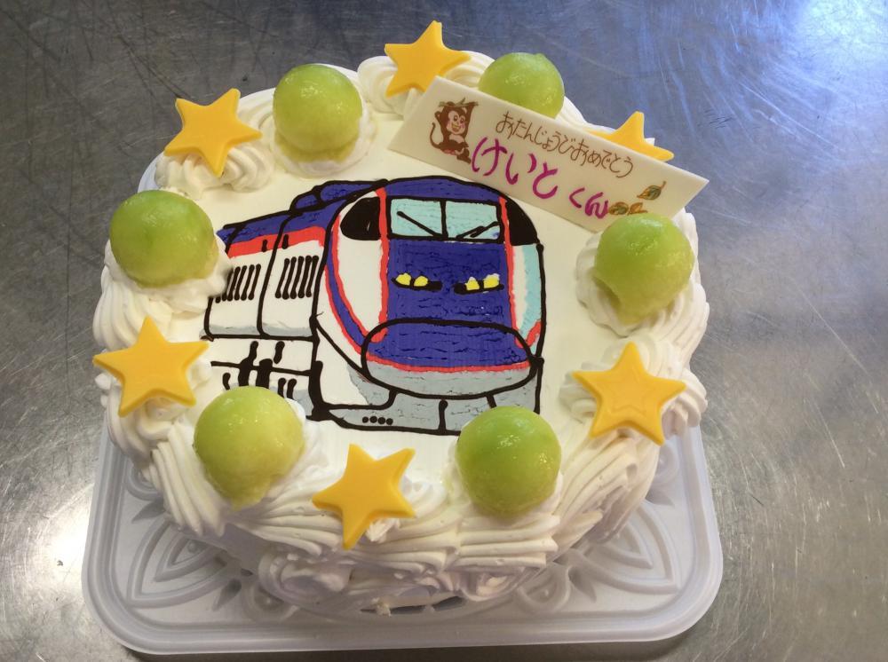 山形新幹線 つばさケーキ:画像