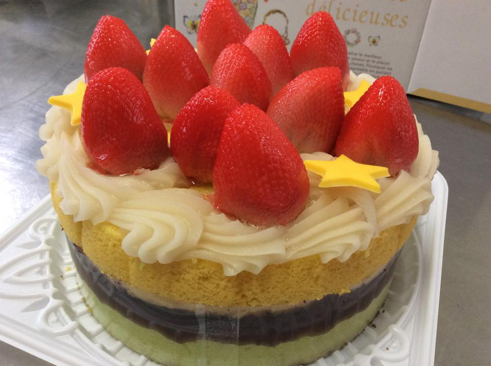 あんこケーキ(*^_^*):画像