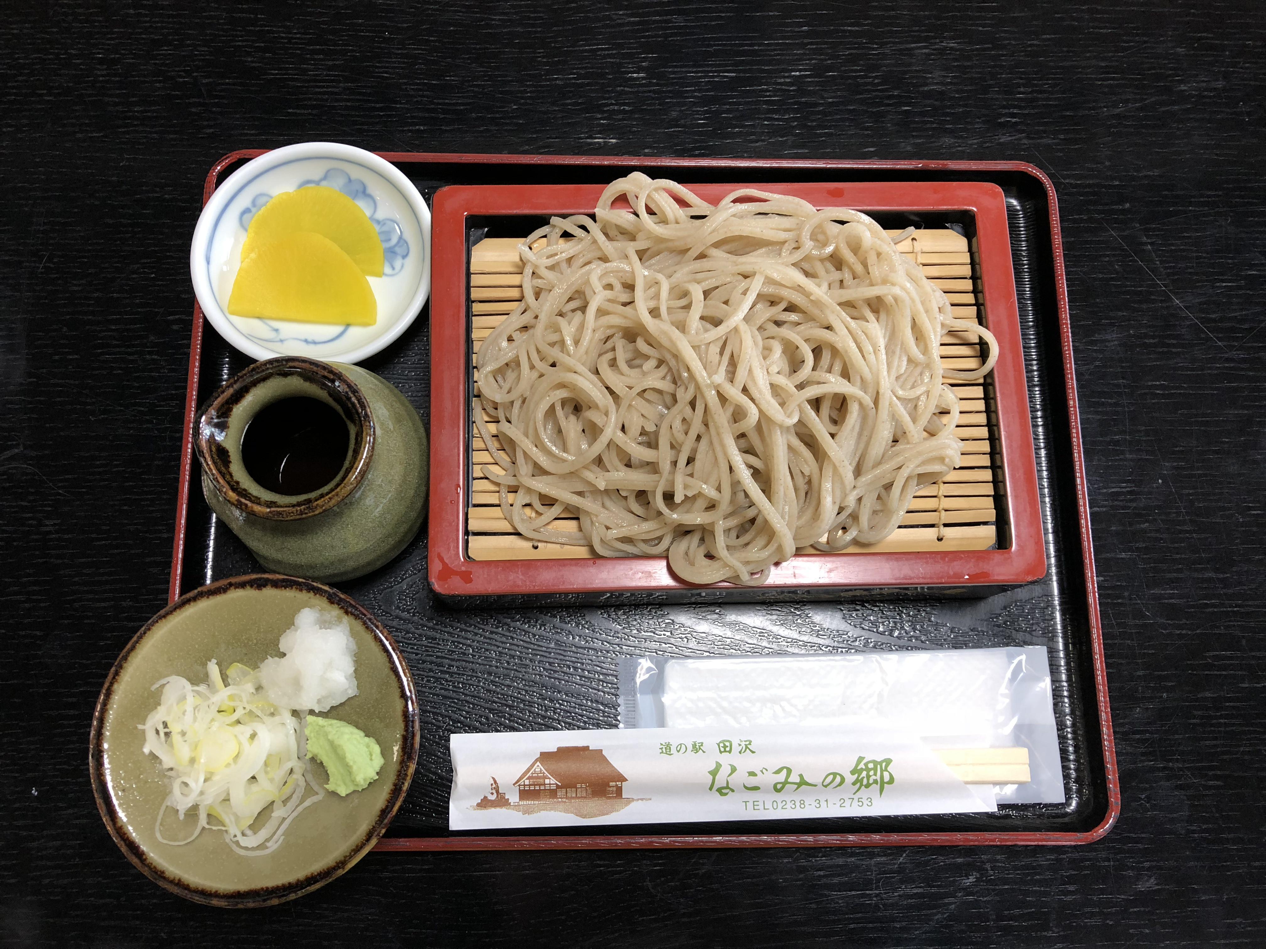 道の駅田沢 新そば祭り(11月1日〜3日)