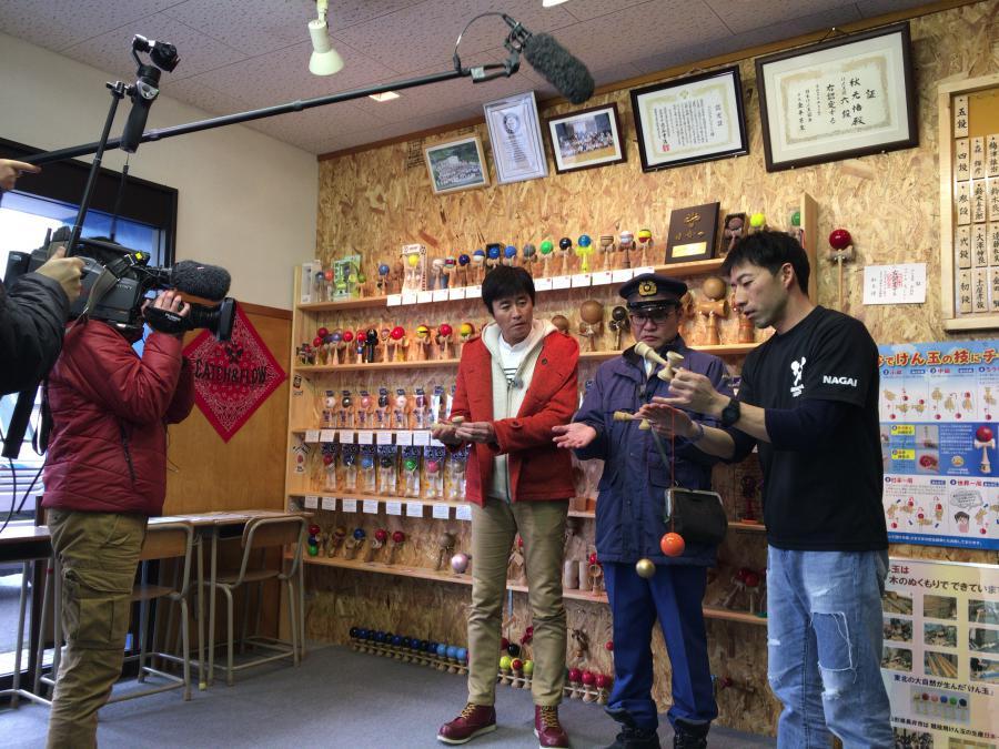 最近長井ではテレビ撮影がたくさん行われています!