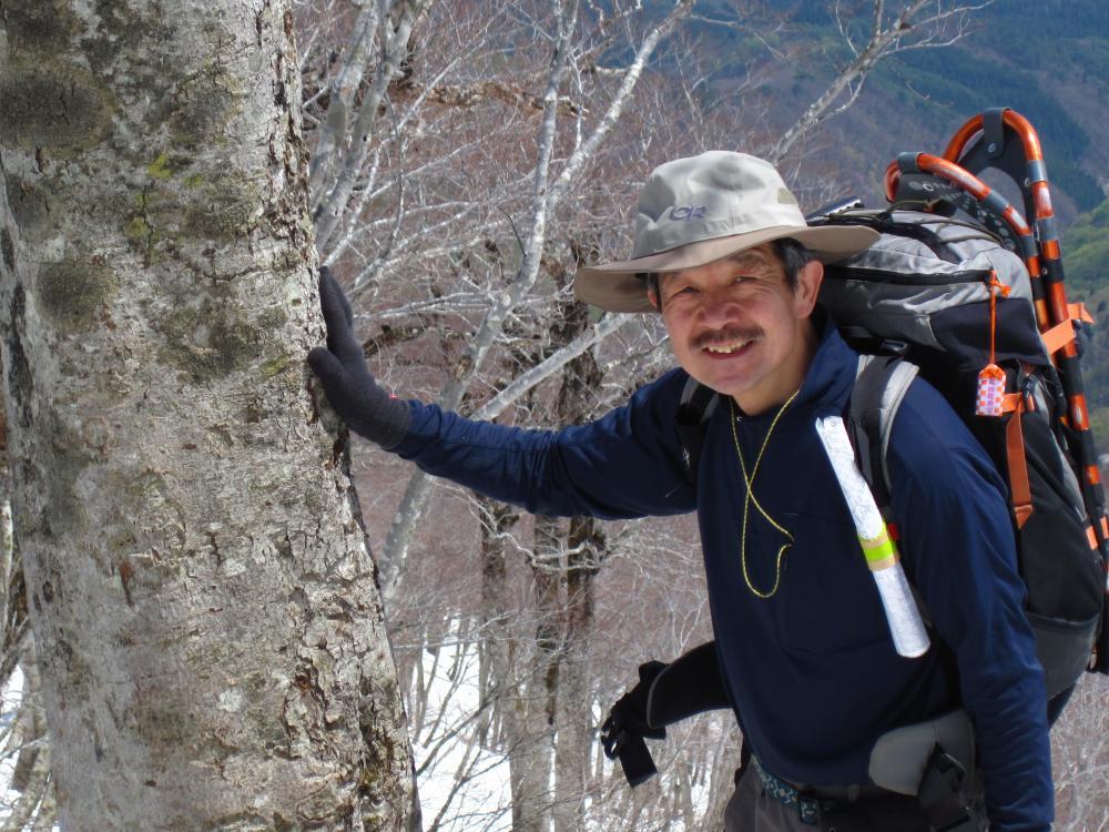 4月16日の熊野山の様子:画像
