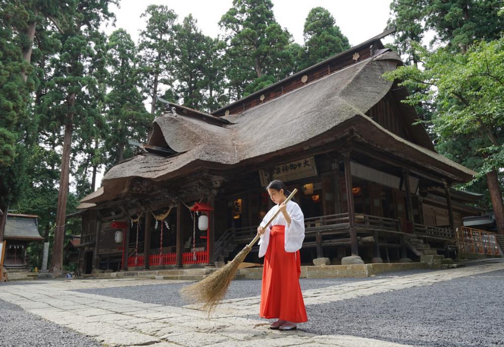"""""""女巫在月下老人熊野大社體驗,""""刊登了4月之後的日程!:圖片"""