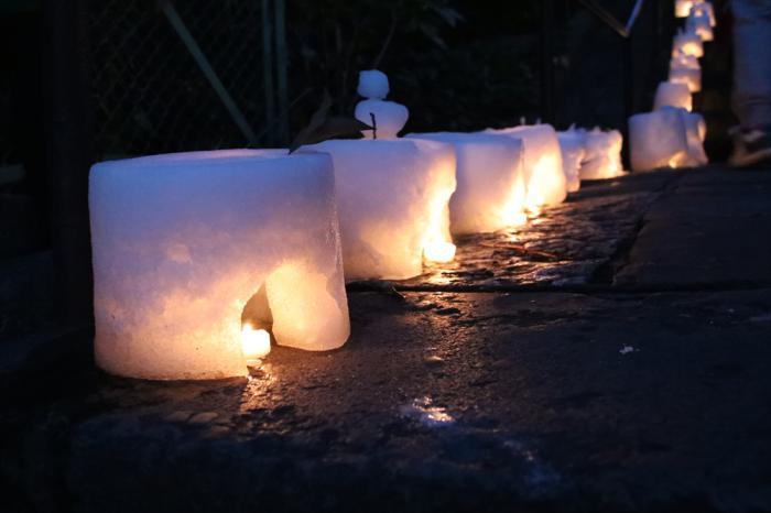第5回 雪灯り回廊 in 池上本門寺