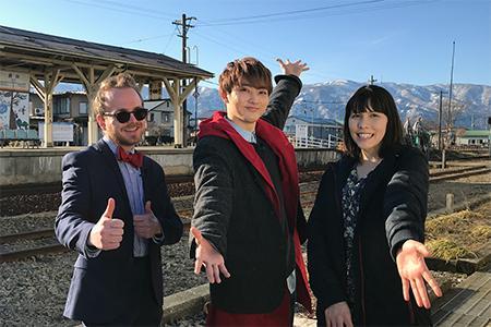 NHK国際放送「J-MELO」に長井市が出ます!:画像
