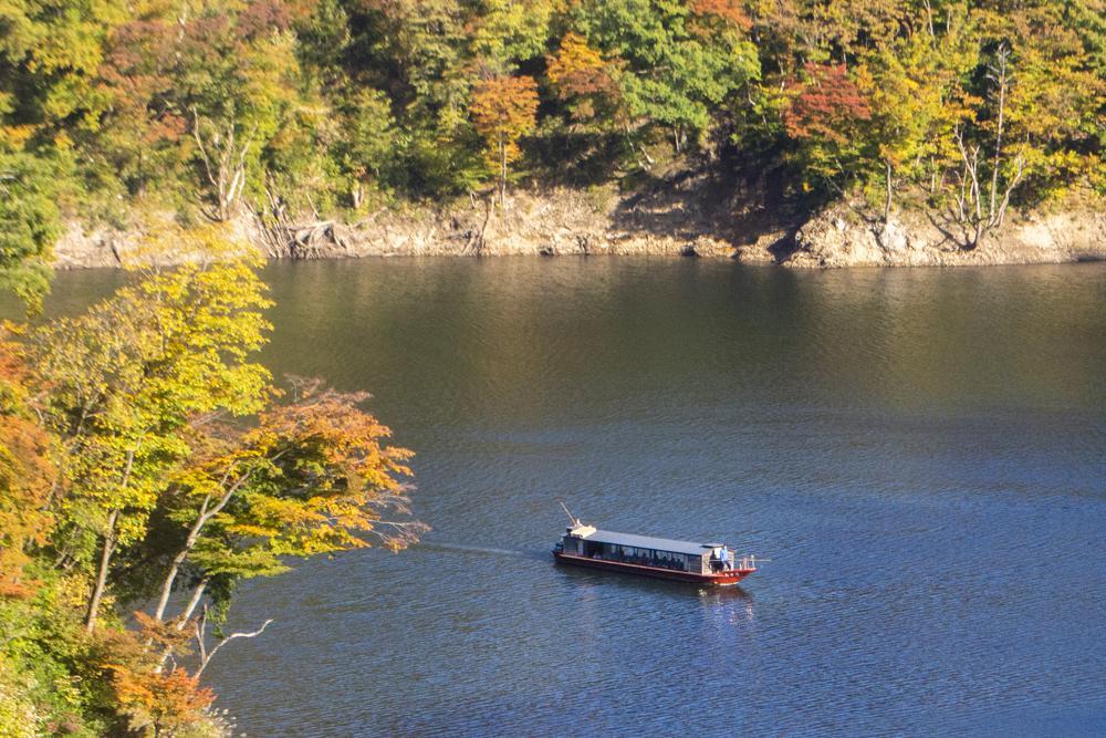 长的100秋天湖游览船运行的通知:图片