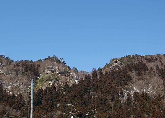 俳句の道から眺める山寺