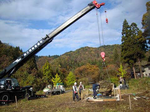 2010/03/22 10:37/墓地現場風景
