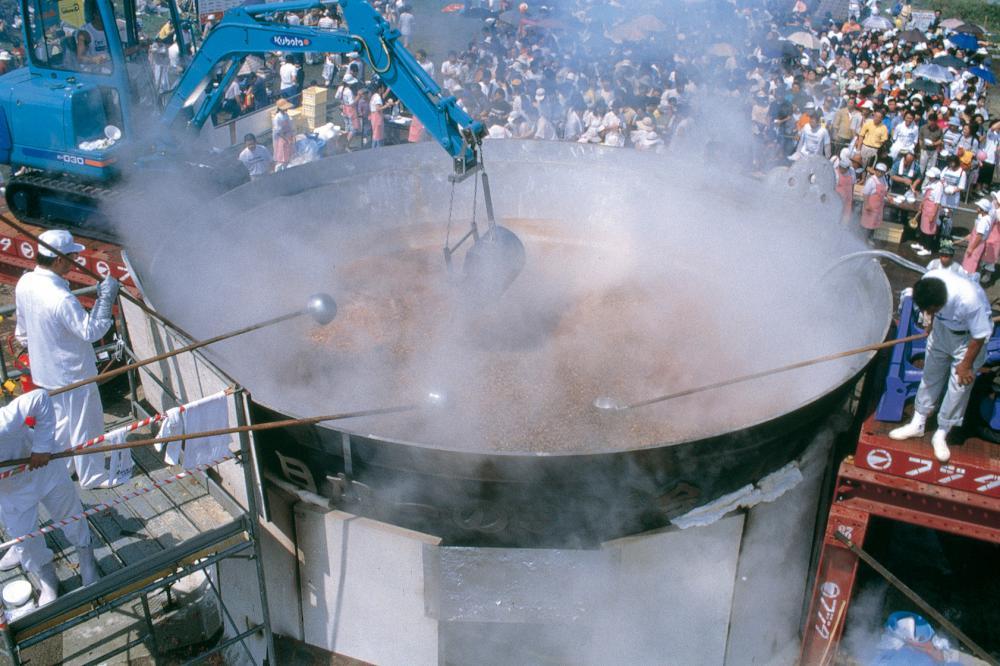 第30回 日本一の芋煮会フェスティバル:画像