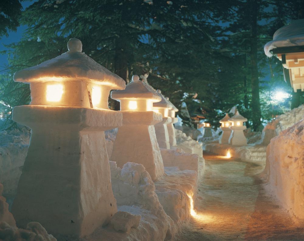 県内雪まつり会場で「山形日和。ぱすぽーと」特別スタンプ付台紙を設置しています!:画像
