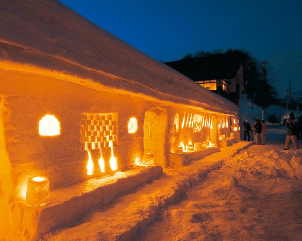 月山志津温泉「雪旅籠の灯り」:画像
