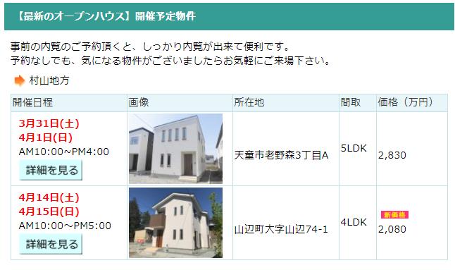 みずほ開発・3月,4月の内覧会情報【3月28日更新】:画像