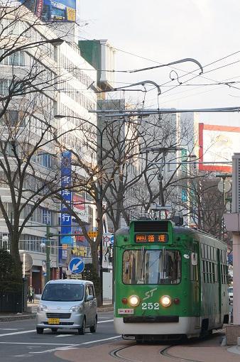 【0泊3日の札幌旅】かわいい電車
