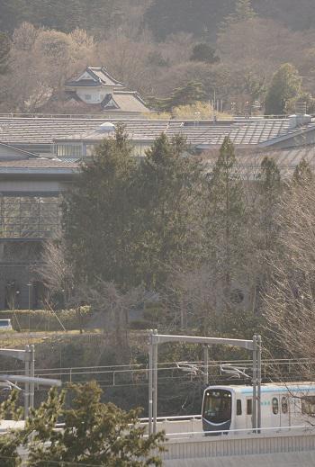 仙台城大手門脇櫓と東西線