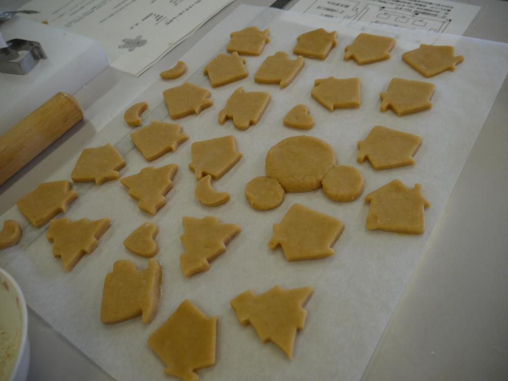 「クリスマスクッキーを一緒に作ろう!」開催しました!