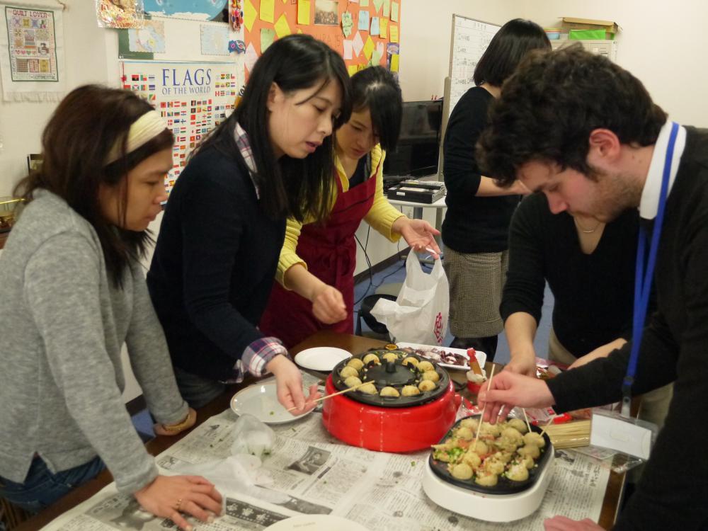 <p>日语学习班年度午餐会! </p>
