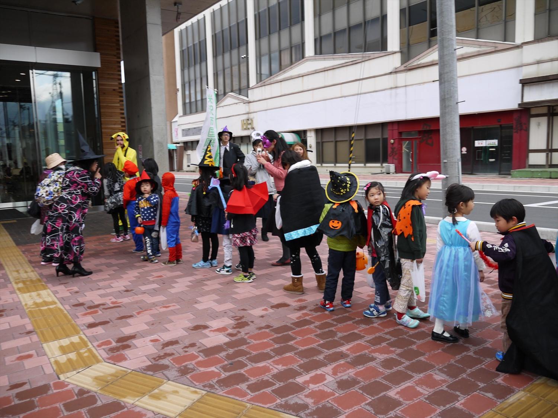 「キッズハロウィーンパレード」 開催しました!