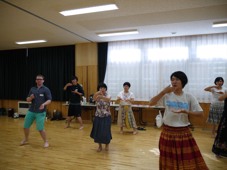 International Talk 'HAWAII'~Hula Experience~