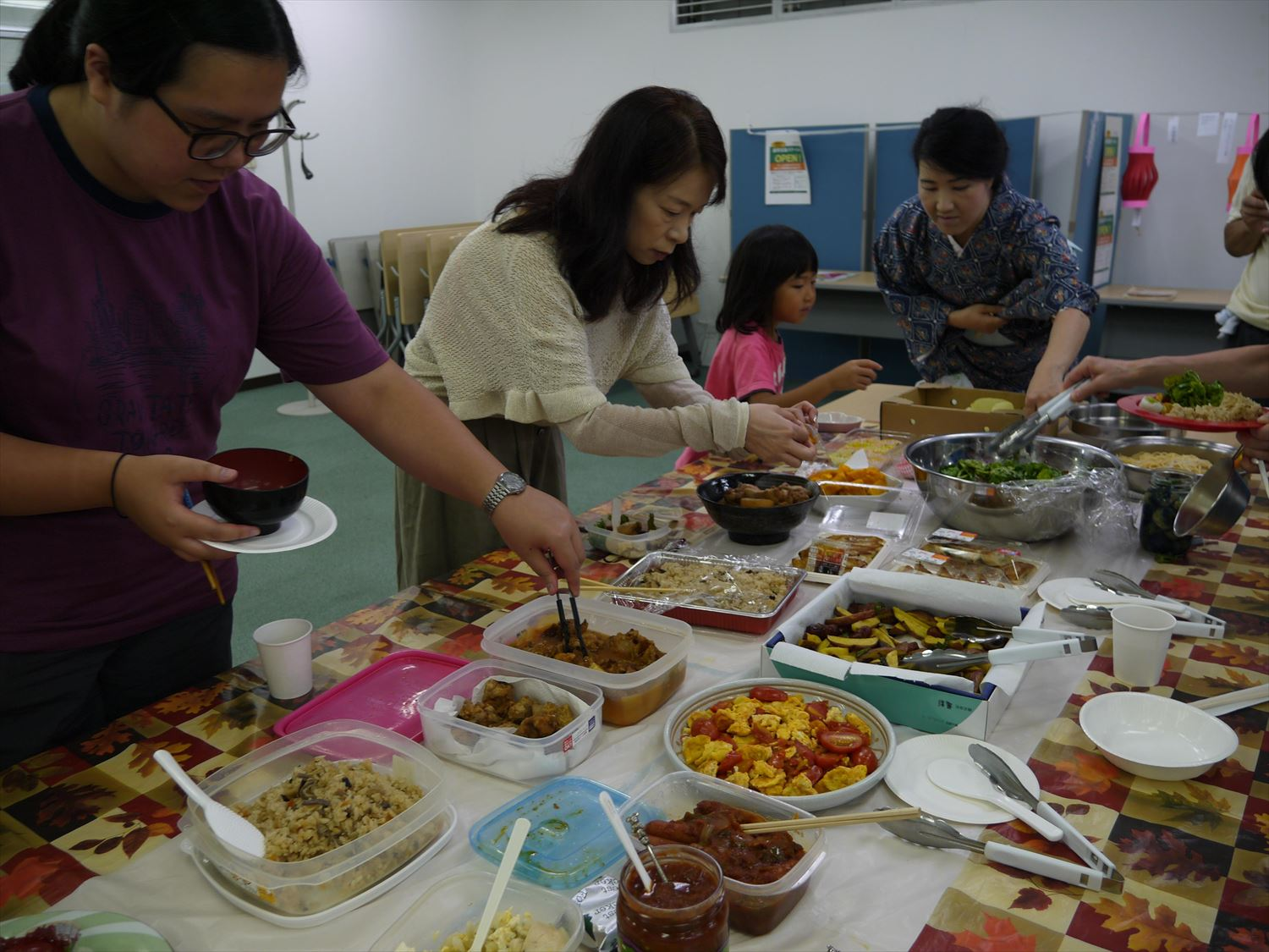 Chinese Autumn Festival Pot-Luck Party!