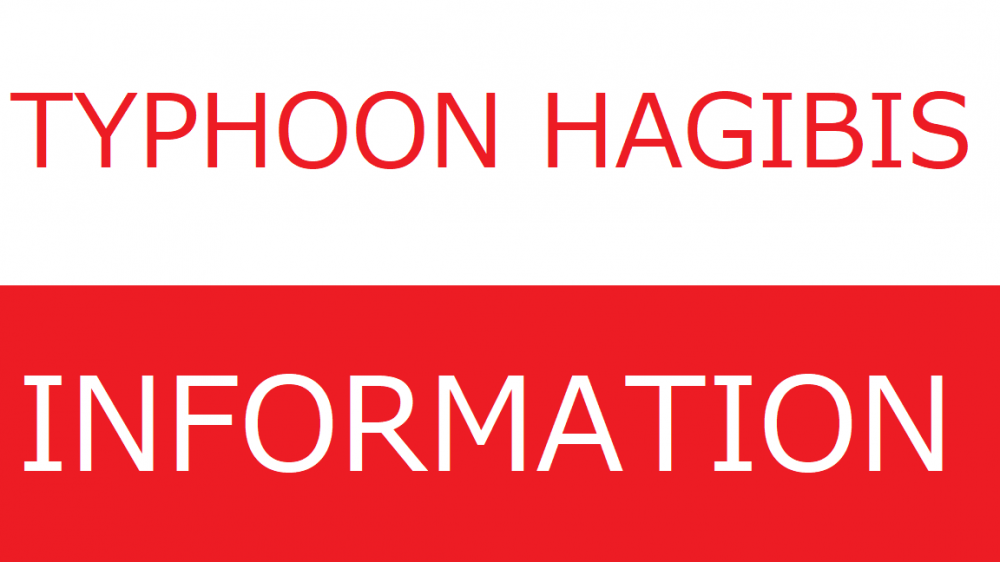 Typhoon Hagibis Information