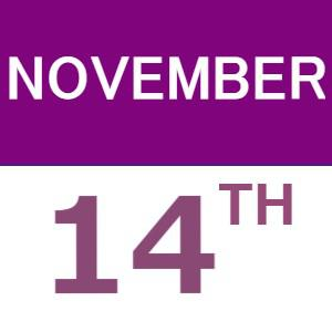 November's Weekend English/