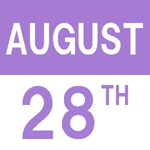 August's Weekend English/