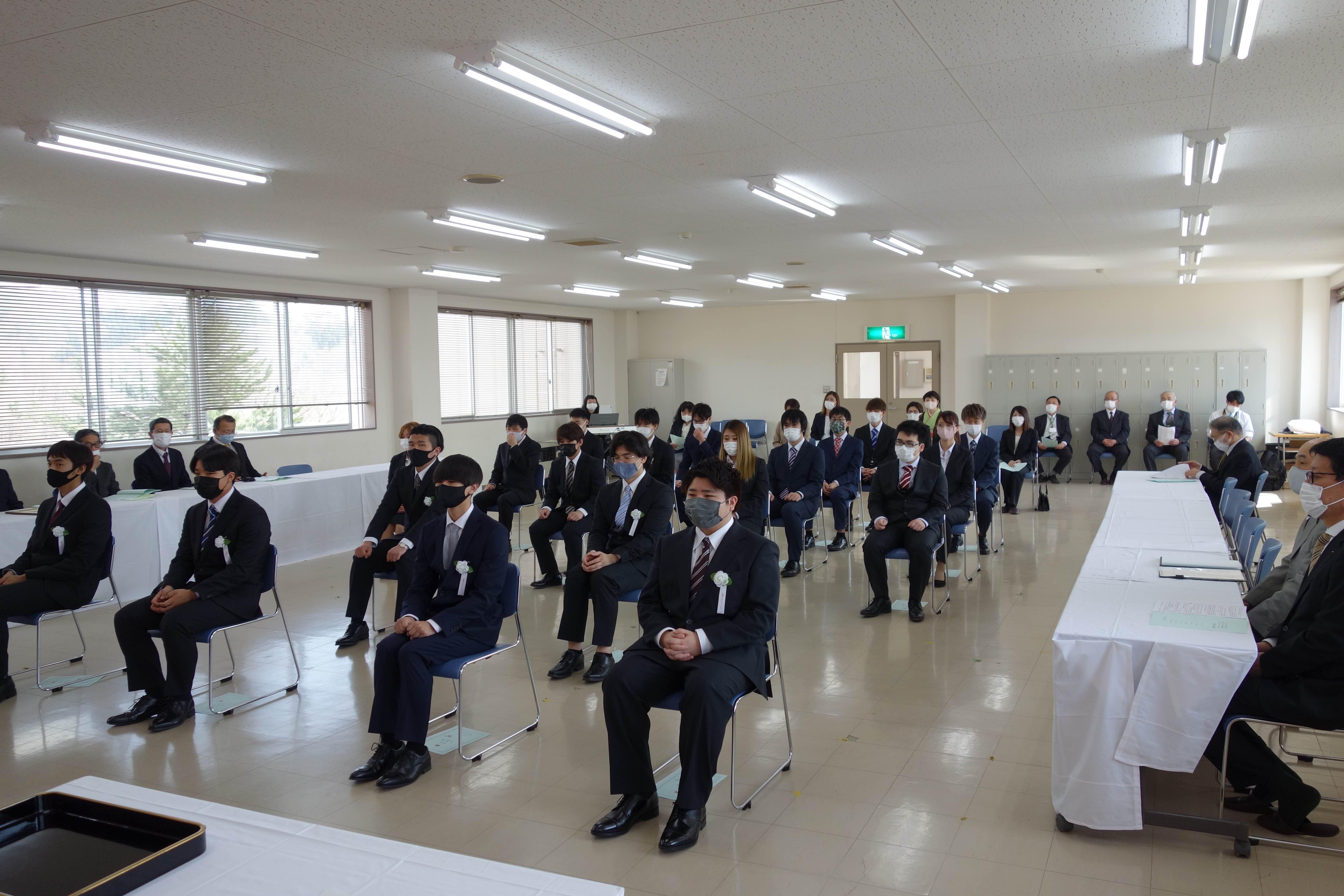 第25期生入学式 学校長式辞:画像