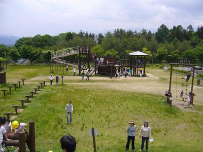 米沢市大森山森林公園:パソコン...