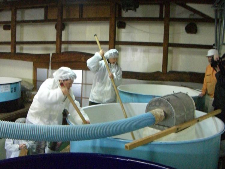 米鶴酒造 仕込み体験(2月中旬):画像