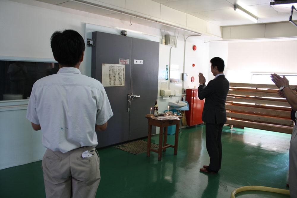 米鶴酒造 速報レポート 10月14日「初添」 今期の仕込み開始!:画像