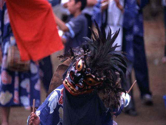 綱木の獅子踊り(つなぎのししおどり):画像
