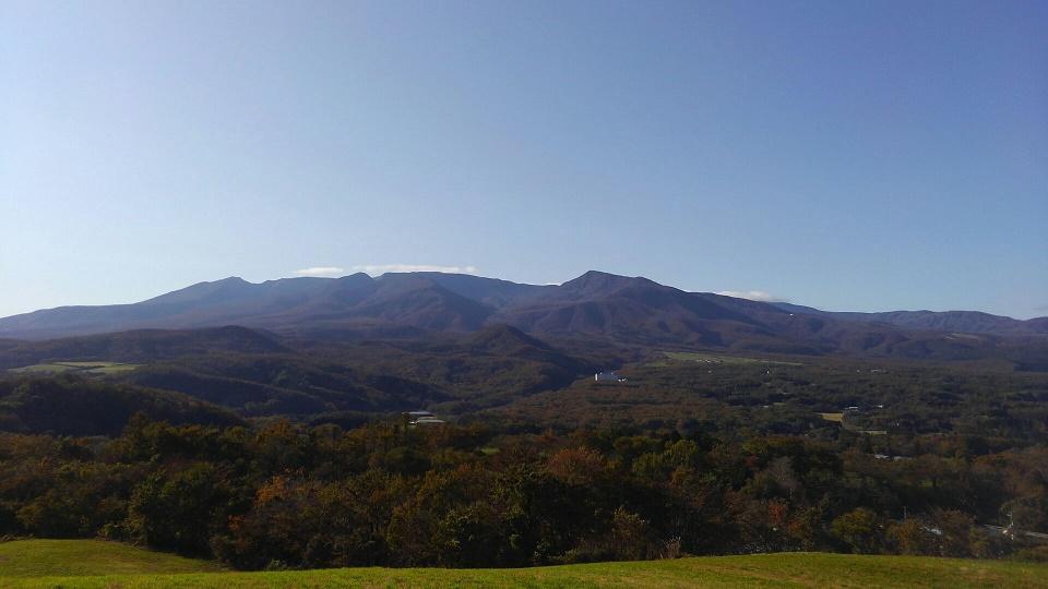 秋の蔵王山