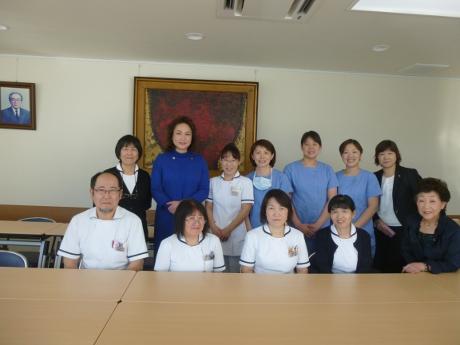参議院議員高階恵美子氏が当病院を来訪