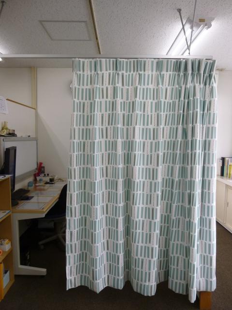 外来診察室のカーテンが新しくなりました:画像
