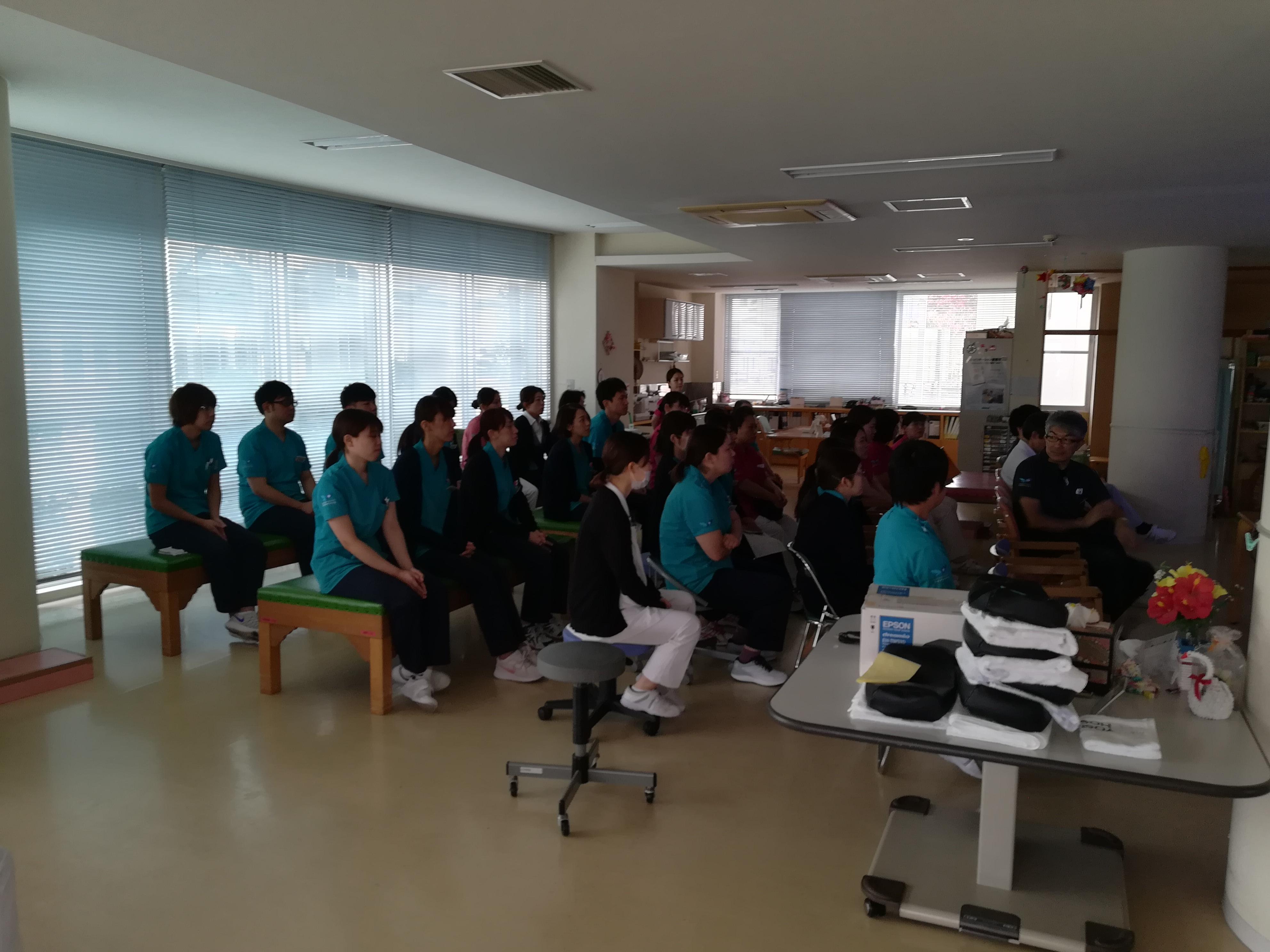肩の運動機能研究会の発表練習:画像