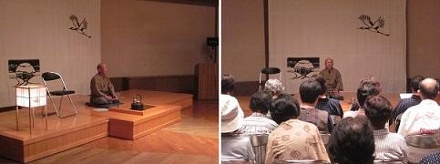 「帯刀春男さん講演会 大好評」の画像