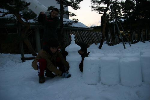 いよいよ今日です 記念館冬まつり