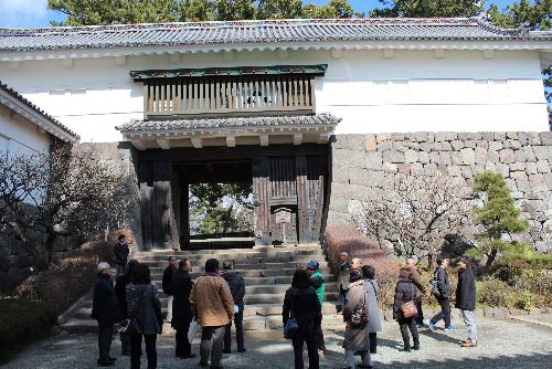 戦国時代の中心 小田原城を見学