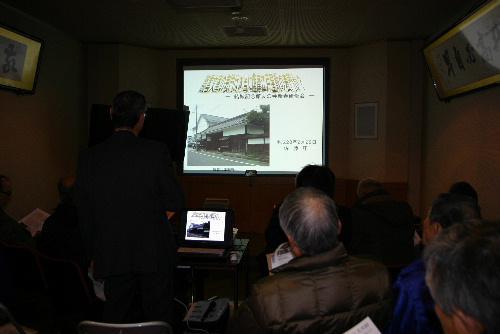 臨雲文庫の表門は本当に薩摩藩江戸屋敷の表門か 記念館友の会新春研修会
