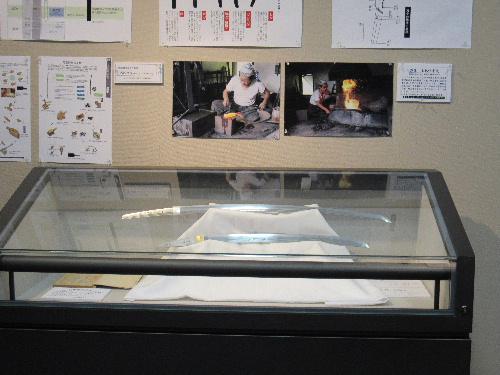 企画展示「ふるさとの刀剣」見学第1号は10代の女性 「(加州)則光」に夢中に